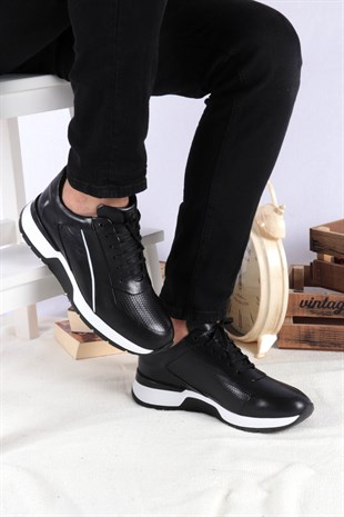 BUFFALO CASUAL SMART SNEAKERS NEW FASHION SİYAH 2020